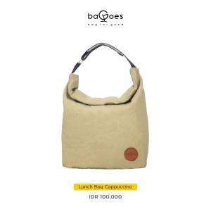 Harga lunch bag tas bekal makanan minuman dengan alumunium foil tahan panas   coklat | HARGALOKA.COM