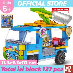 Katalog Mainan Anak Perempuan Food Truck Barbie 7887 Katalog.or.id