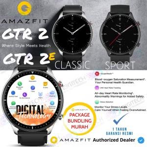 Harga amazfit gtr 2 smartwatch blood oksigen play music bluetooth call   gtr 2e   grey paket | HARGALOKA.COM