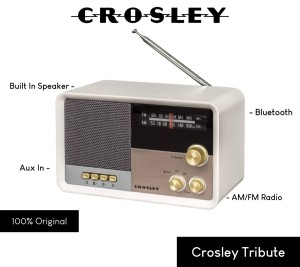 Harga crosley tribute classic vintage radio with | HARGALOKA.COM