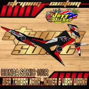Harga striping custom honda sonic 150r gratis biaya edit suka suka | HARGALOKA.COM
