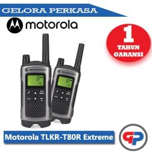 Harga motorola tlkr t80 walkie talkie sepasang walky talky baru ori | HARGALOKA.COM