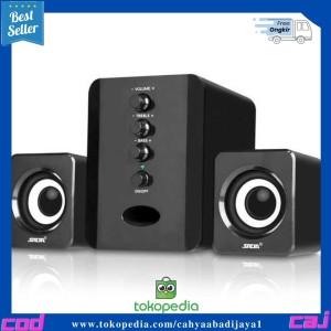 Harga sada d 202 speaker stereo 2 1 with subwoofer amp usb | HARGALOKA.COM