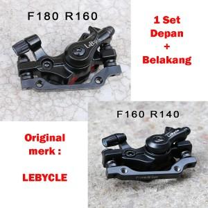 Harga kaliper rem cakram mekanikal sepeda mtb seli lebycle rotor | HARGALOKA.COM