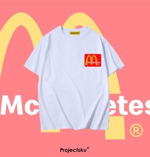 Harga tshirt baju custom meme mcdonald   gambar uk a4 | HARGALOKA.COM