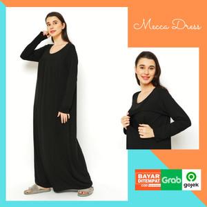 Harga baju hamil dress gamis menyusui untuk busui bumil all size | HARGALOKA.COM