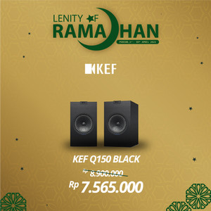Harga kef q150 bookshelf speaker 2 way bookshelf   | HARGALOKA.COM