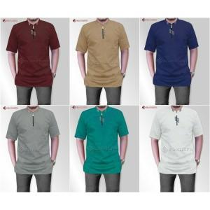 Harga baju koko baju muslim gaul model baru   abu abu | HARGALOKA.COM