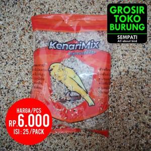 Harga kenari mix sempati pakan burung kenari biji campur canary seed 25 | HARGALOKA.COM