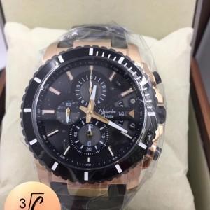 Harga jam tangan pria ac 6141 black rose | HARGALOKA.COM
