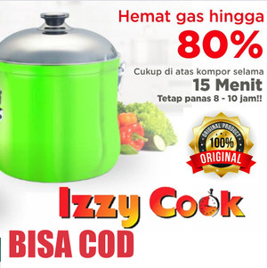 Harga izzy cook original rice cooker penanak nasi elektrik magic | HARGALOKA.COM