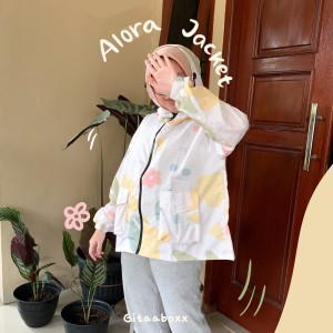 Harga jaket sepeda wanita printing terlaris jaket lucu jaket parasut   | HARGALOKA.COM