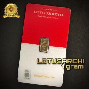 Harga emas logam mulia lm lotus archi 1 | HARGALOKA.COM