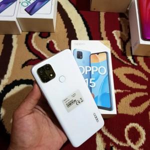 Harga oppo a15 3 32gb fullset second murah   | HARGALOKA.COM