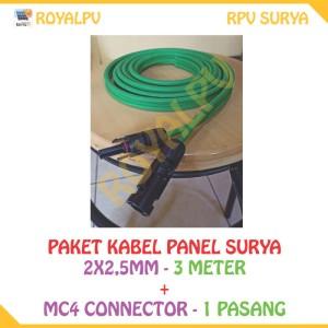 Info Kabel Power Solar Cell Solar Panel 2x2 5mm 50m Merk Akiku Katalog.or.id