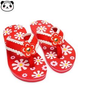 Harga sandal anak wedges bunga salur perempuan lucu heels   bunga | HARGALOKA.COM