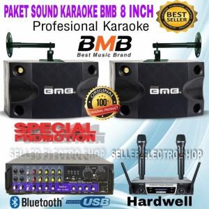 Harga paket sound karaoke bmb cs 252v 8 inch number 1 | HARGALOKA.COM