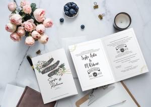 Harga jasa cetak undangan pernikahan murah kekinian | HARGALOKA.COM
