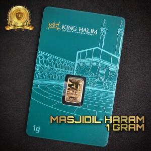 Harga emas logam mulia lm masjidil haram gold king halim 1 | HARGALOKA.COM