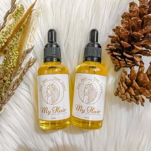 Harga myhair minyak kemiri 100 asli untuk penumbuh rambut rontok   | HARGALOKA.COM