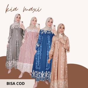 Harga baju muslim wanita model gamis terbaru lebaran 2021 murah berkualitas   | HARGALOKA.COM