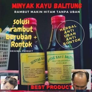Harga 100 original minyak kayu balitung obat uban penumbuh rambut | HARGALOKA.COM