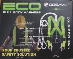 Harga safety belt full body double hook besar body harnes harness big   HARGALOKA.COM