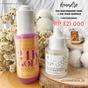Harga bundle somethinc 10 niacinamide 20ml somethinc c riously | HARGALOKA.COM