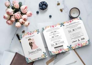 Harga undangan pernikahan jasa undangan pernikahan murah | HARGALOKA.COM