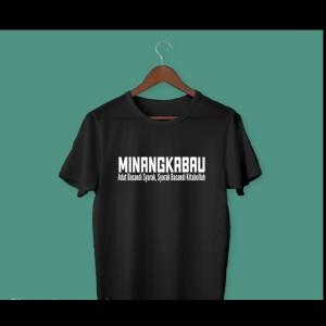 Harga kaos baju distro adat minang minangkabau filsafah tasarah polos   HARGALOKA.COM