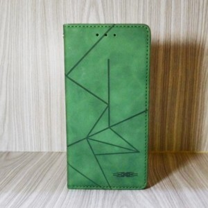 Harga flip cover oppo f9 a12 a7 2018 casing wallet leather case kulit   hijau | HARGALOKA.COM