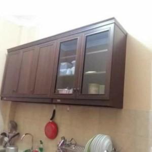 Harga rak piring cantik lemari gantung kitchen set atas 5 | HARGALOKA.COM
