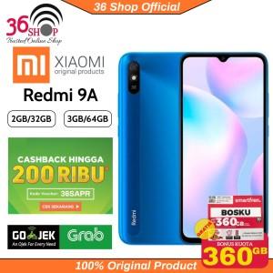 Harga redmi 9a ram 2 32gb   3 32gb garansi resmi xiaomi indonesia   grey | HARGALOKA.COM