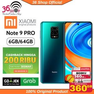 Harga xiaomi redmi note 9 pro ram 6 64 gb garansi resmi xiaomi indonesia   | HARGALOKA.COM