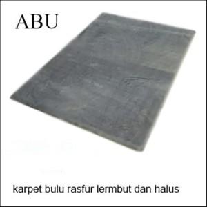 Harga karpet bulu raspur 160x100x5cm busa hdp termurah     HARGALOKA.COM