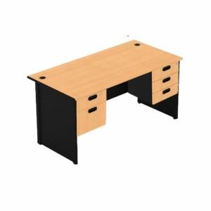 Harga meja kantor 1 biro uno uod 1038 uk 180 pakai laci kiri dan | HARGALOKA.COM