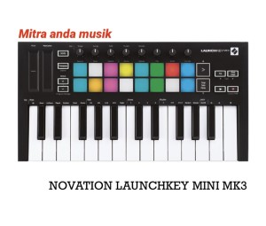 Harga novation launchkey mini mk3 portable midi keyboard | HARGALOKA.COM