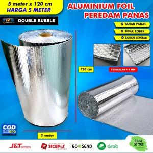 Info Peredam Panas Alumunium Foil Universal 1 25mtr X 1mtr Katalog.or.id