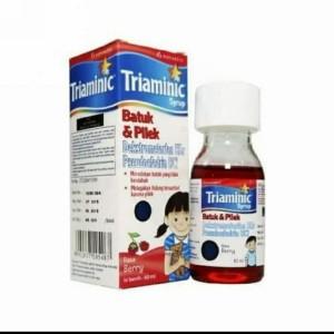 Harga triaminic batuk dan pilek sirup 60ml obat batuk kering dan pilek   HARGALOKA.COM