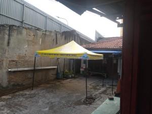 Harga tenda lipat printing brand atau logo ukuran 3x3 0 6mm   | HARGALOKA.COM