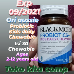 Harga blackmores probiotics kids daily chewable | HARGALOKA.COM