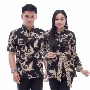 Harga baju batik couple modern keluarga     HARGALOKA.COM