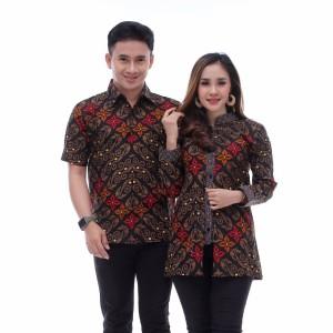Harga baju batik couple modern keluarga   5 | HARGALOKA.COM