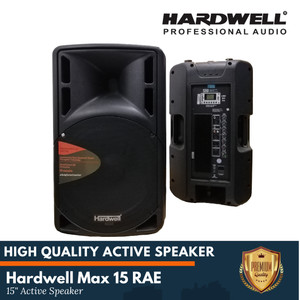 Harga speaker active hardwell 15 inch with usb and effect | HARGALOKA.COM