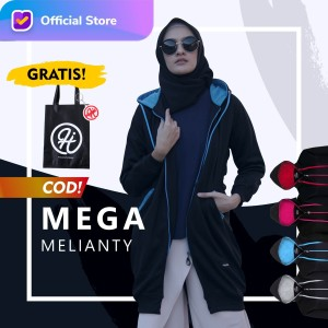Harga hijacket basic black original   jaket panjang wanita muslimah   black x turkish all size fit | HARGALOKA.COM