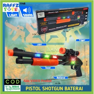 Harga mainan anak laki pistol batre pistolan senapan sniper shotgun electric   shotgun | HARGALOKA.COM