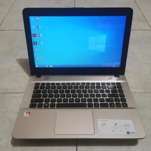 Harga laptop bekas murah asus x441b amd a9 gen 7th ram 4gb hdd   HARGALOKA.COM
