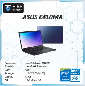Harga laptop murah asus e410ma n4020 4gb 192gb 64 128 w10   non   HARGALOKA.COM