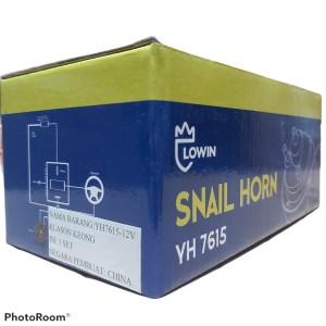 Harga klakson dcs black twin tone untuk mobil amp motor include relay original   | HARGALOKA.COM