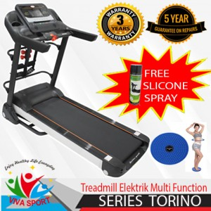 Harga alat fitness elektrik torino alat fitness gym olahraga viva | HARGALOKA.COM